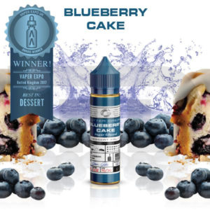 BLUEBERRY CAKE BASIX SERIES ELIQUID 50ML SHORTFILL BY GLAS
