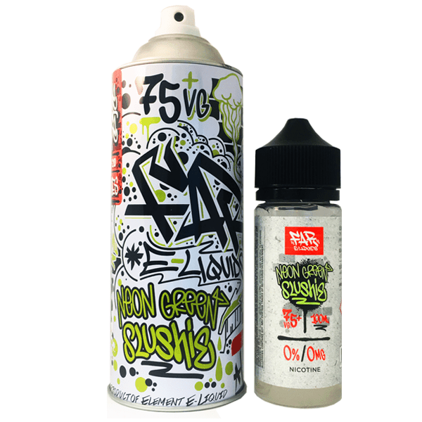 NEON GREEN SLUSHIE FAR SHORTFILL ELIQUID BY ELEMENT
