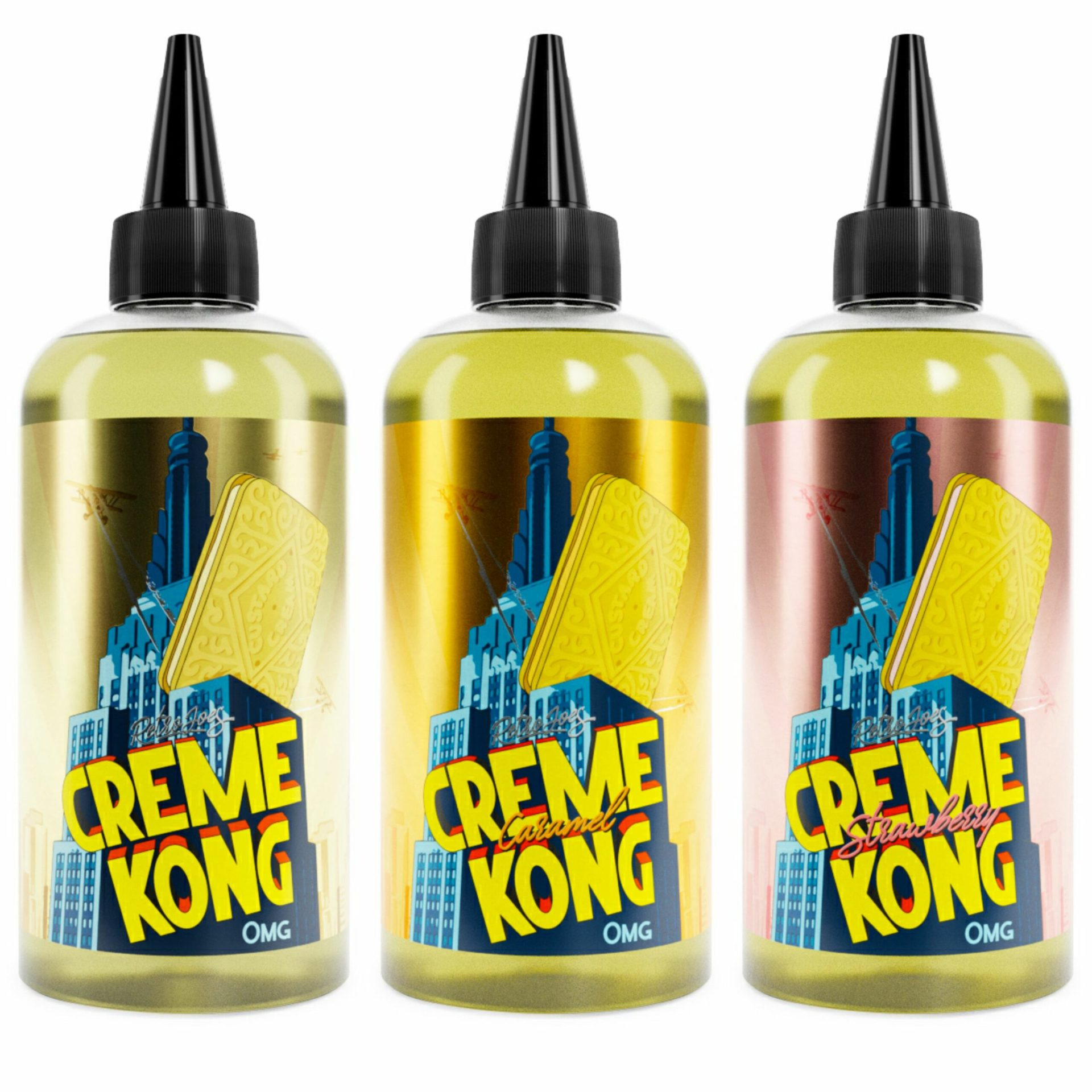 CREME KONG RANGE SHORTFILL ELIQUID BY JOES JUICE